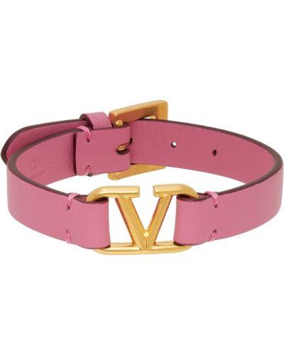 Różowa złota bransoletka Valentino Garavani