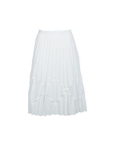 Плиссированная юбка миди в складку Emporio Armani