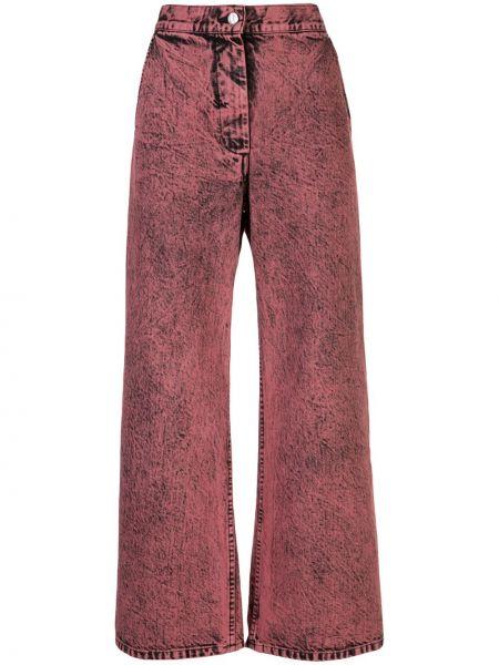 Брюки с завышенной талией с карманами на пуговицах Rachel Comey
