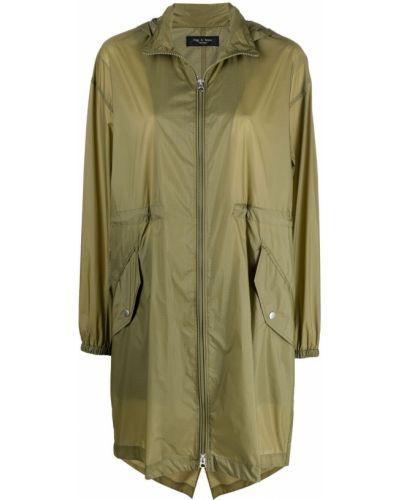 Płaszcz przeciwdeszczowy - zielony Rag & Bone
