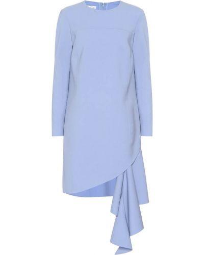 Платье мини облегающее коктейльное Oscar De La Renta