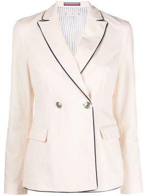 Классический пиджак двубортный с карманами на пуговицах Tommy Hilfiger