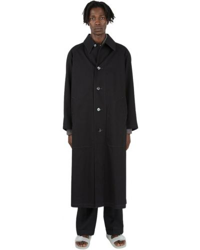 Płaszcz przeciwdeszczowy - czarny Lemaire