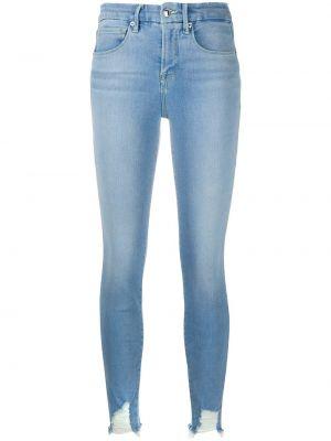 Klasyczne niebieskie jeansy bawełniane Good American