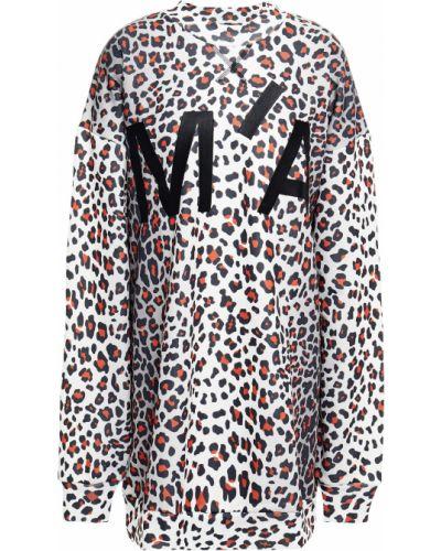 Bluza dresowa z haftem bawełniana Marques Almeida