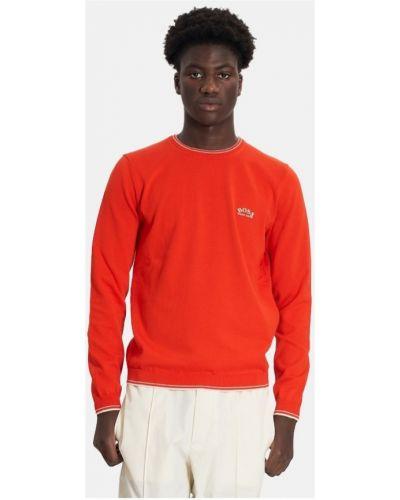 Sweter - pomarańczowy Hugo Boss