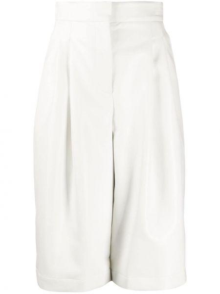 Прямые укороченные брюки с воротником с поясом Philosophy Di Lorenzo Serafini