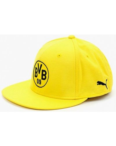 Желтая бейсболка Puma