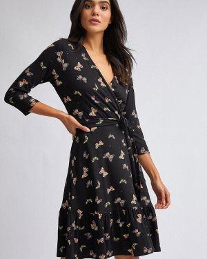 Платье с запахом осеннее Dorothy Perkins