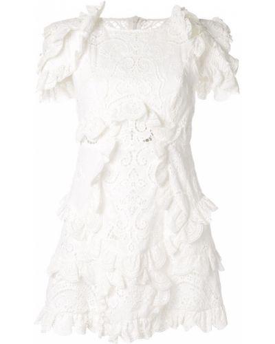 Платье мини с цветочным принтом на молнии Thurley