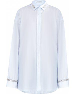 Блузка с пайетками в полоску Ermanno Scervino