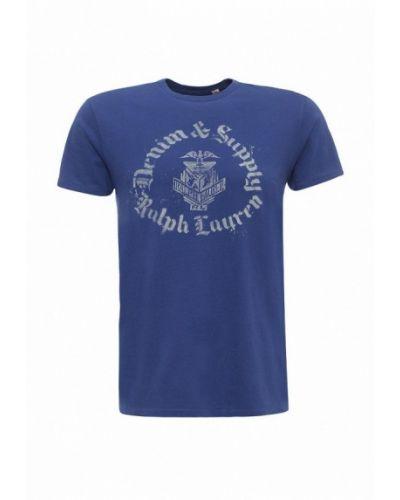 Футболка джинсовая синий Denim & Supply Ralph Lauren