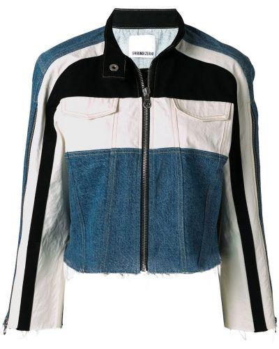 Джинсовая куртка на молнии Ground Zero