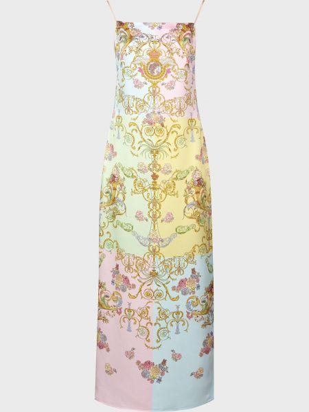 Платье на молнии Versace Jeans Couture