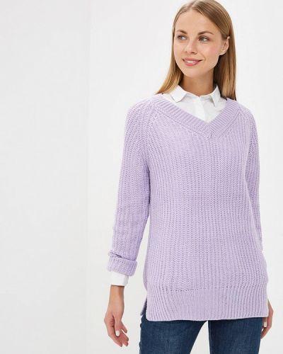 Фиолетовый пуловер 2018 Modis