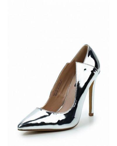 Туфли-лодочки кожаные на каблуке Lost Ink.