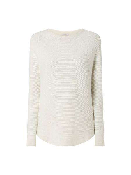 Biały z kaszmiru sweter Riani