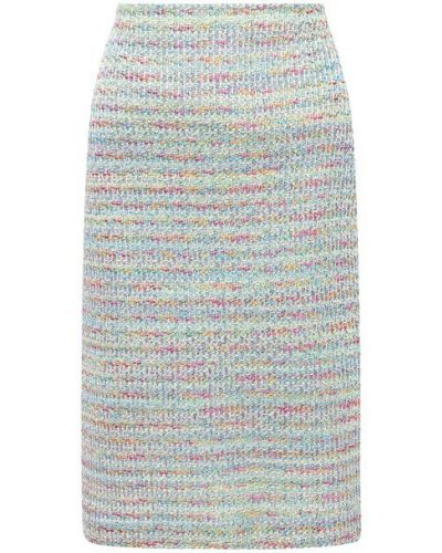 Шелковая юбка с подкладкой St. John