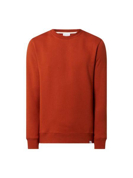 Bluza bawełniana - pomarańczowa Norse Projects
