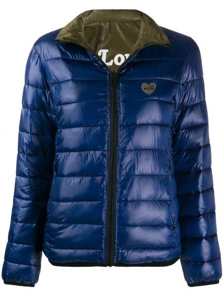 Куртка на молнии с карманами Love Moschino