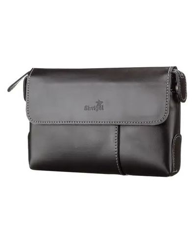 Кожаная сумка - черный Shvigel