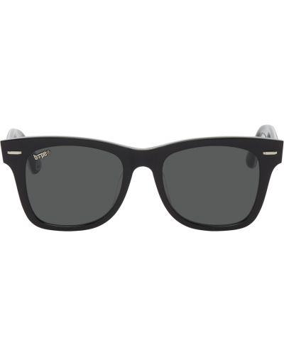 Белые очки в полоску Bape