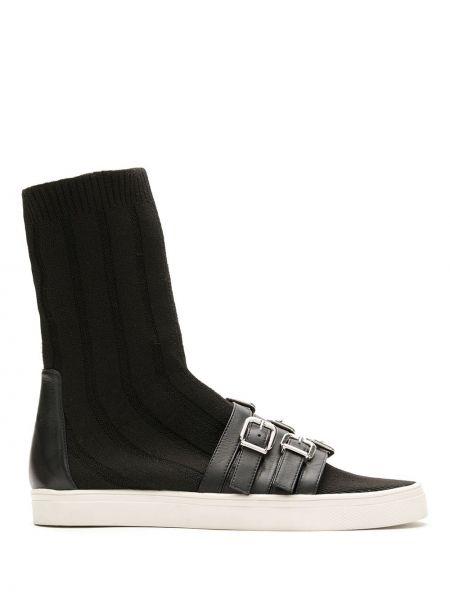 Черные носки высокие Gloria Coelho
