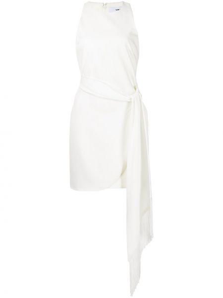 Платье мини без рукавов - белое Likely