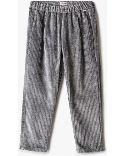 Серебряные брюки Il Gufo