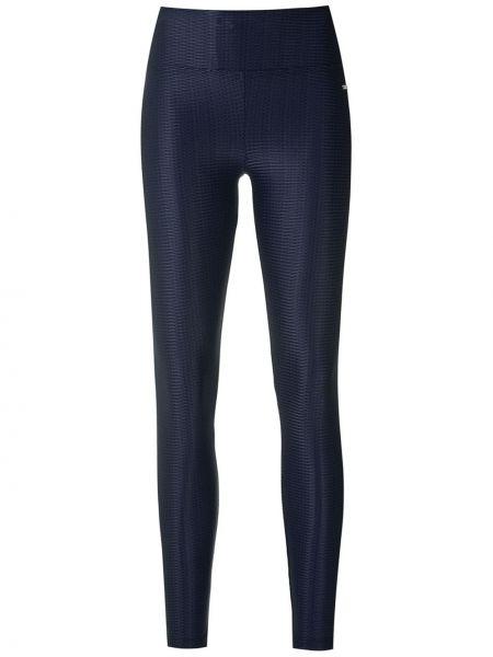 Синие спортивные брюки узкого кроя металлические Track & Field