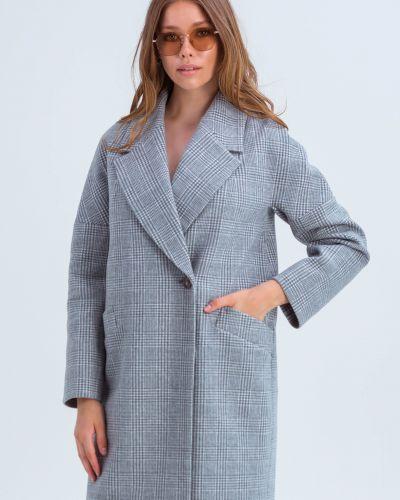Пальто оверсайз - серое Emass