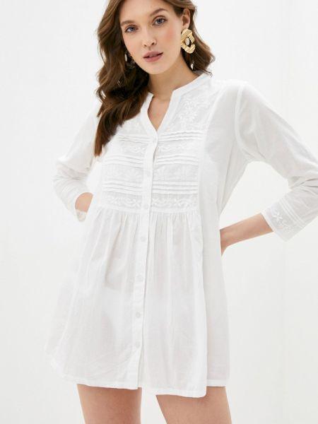 Пляжное белое пляжное платье Venera