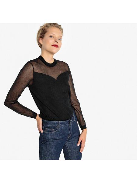 Пуловер из вискозы тонкий La Redoute Collections