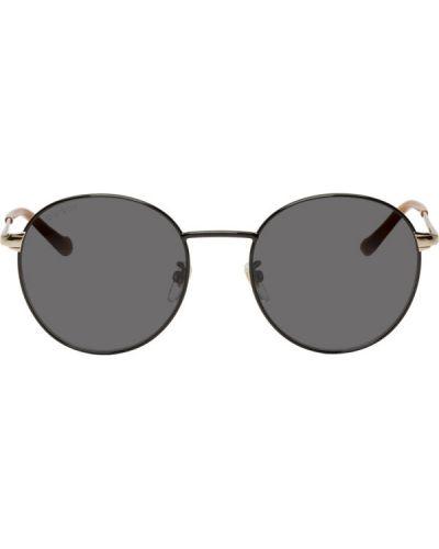 Okulary przeciwsłoneczne czarny Gucci