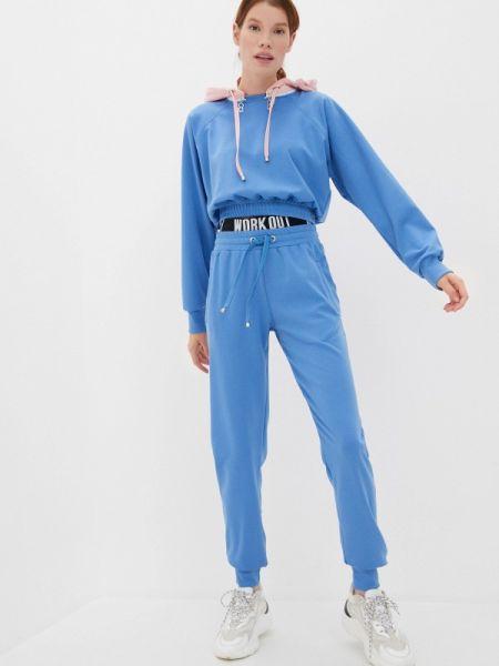 Синий костюмный спортивный костюм Malaeva