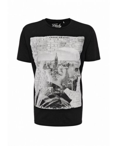 Черная футболка Fresh