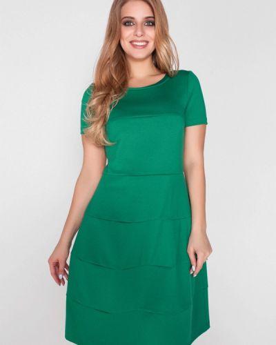 Зеленое повседневное платье Eliseeva Olesya