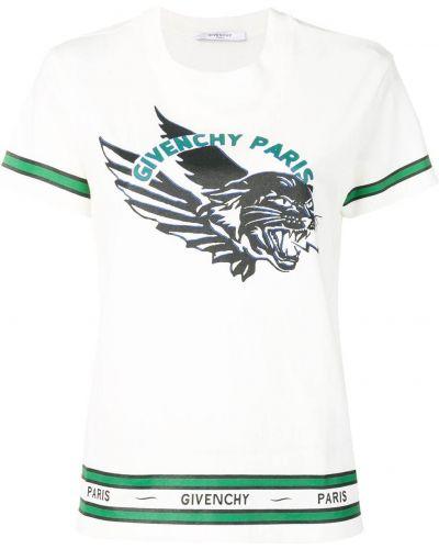Bawełna koszula w paski z paskami Givenchy