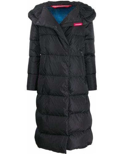 Куртка с капюшоном - черная Freedomday
