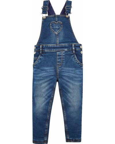 Комбинезон с подкладкой джинсовый Mothercare