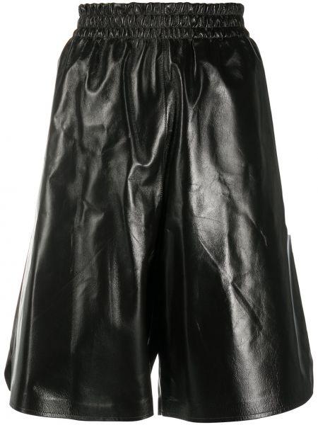 Хлопковые шорты - черные Bottega Veneta