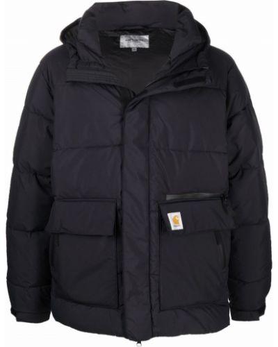 Куртка с капюшоном - черная Carhartt Wip