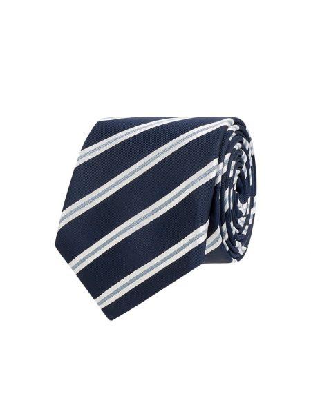 Krawat, niebieski Boss