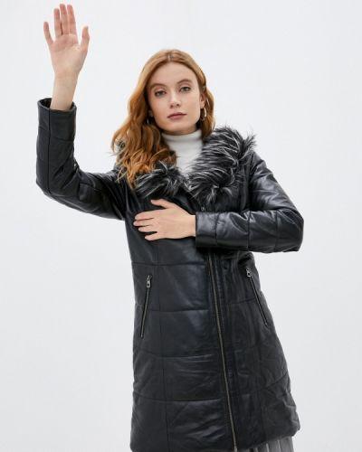 Кожаная куртка - черная Giorgio Di Mare