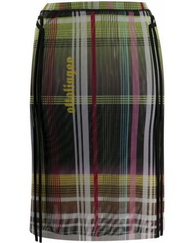 Зеленая с завышенной талией юбка Ottolinger