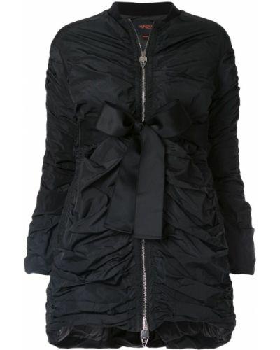 Черная длинная куртка Giambattista Valli