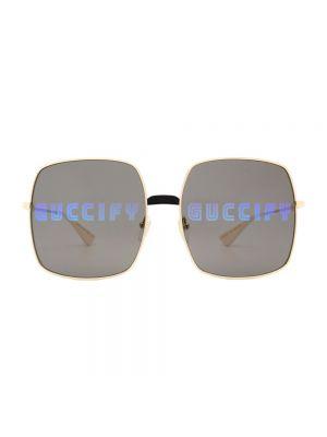 Okulary - czarne Gucci