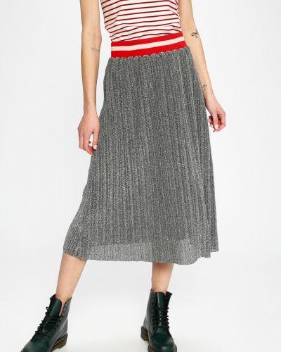 Плиссированная юбка карандаш с завышенной талией Sh