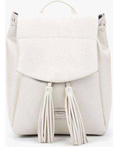 Белый рюкзак Vitacci