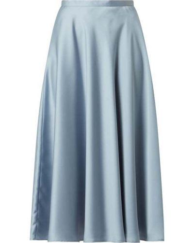 Spódnica rozkloszowana - niebieska Swing